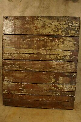 Antique Primitive Warehouse Cart with Casters Chippy Beauty Coffee Table
