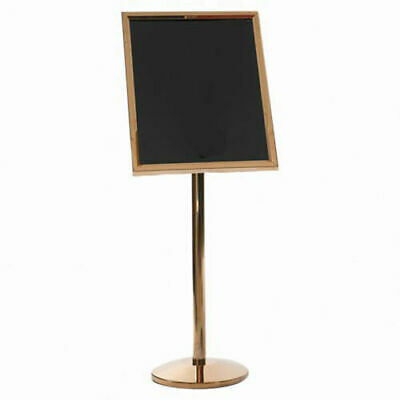 """Aarco Small Menu And Poster Holder Brass - 24""""W x 20""""H"""