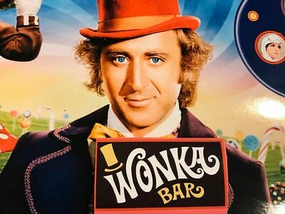 wonka bar real chocolate comes with Golden ticket