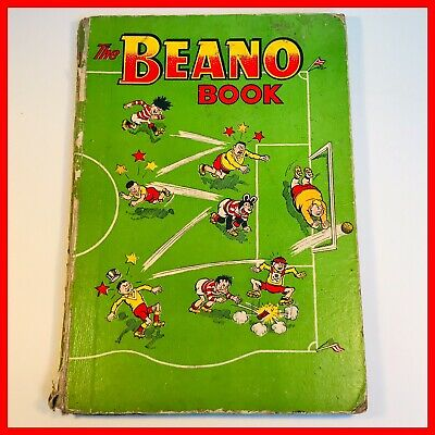 Collectable Extremely Rare - Beano book (Annual) 1957  Inc The Iron Fish