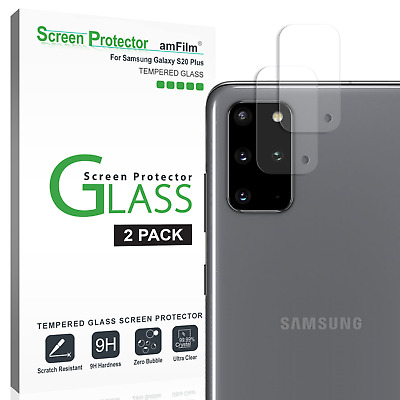 Galaxy S20 Plus / Ultra amFilm Back Camera Lens Glass Screen Protector (2 Pack)