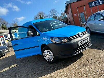 VOLKSWAGEN CADDY MAXI C20 1.6 TDi BLUE 53K EX BRITISH GAS & RACKING 1 OWNER LWB
