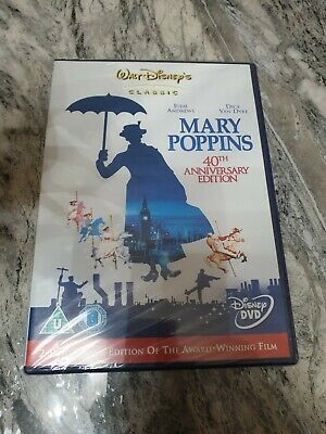 Mary Poppins 2 Disc 40th Anniversary Special Edition dvd new sealed