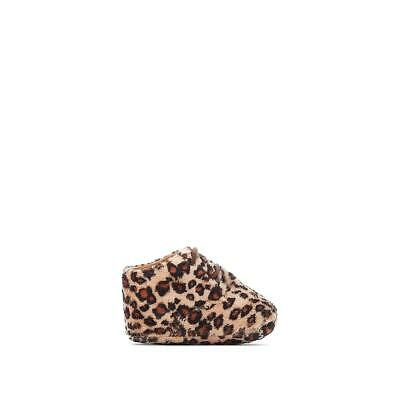 La Redoute Collection Baby Girls Baby Leopard Print Slippers 350145639