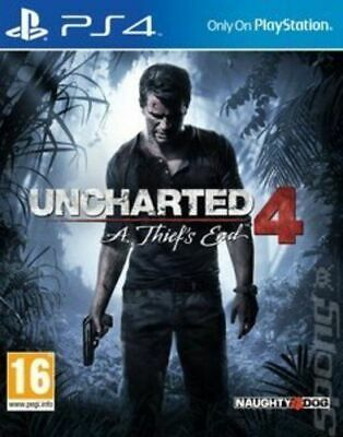 Uncharted 4: A Thief's End ( PS4) Mint Same Day Dispatch 1st Class Delivery Free