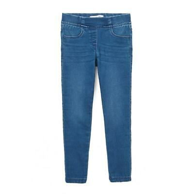 La Redoute Collection Girls Denim Jeggings 3-12 Years 350077617