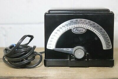 Vintage Franz Metronome Metal Electric Tested and Working Model LM-4 Nice! G1