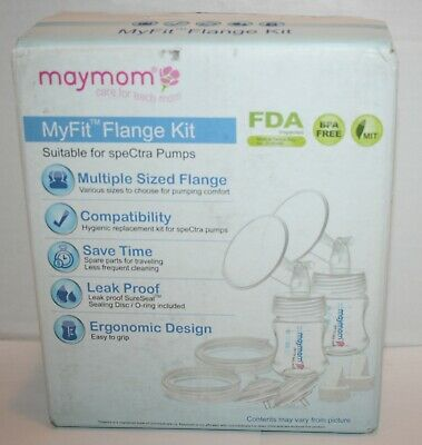 Maymom MyFit Flange Kit Compatible w/SpeCtra Pumps - 24mm *Partially Sealed*