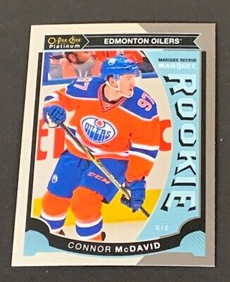 2015-16 OPC Platinum Marquee Rookie M1 Connor McDavid Rookie Card