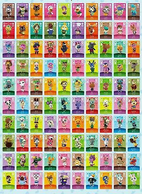 Animal Crossing Amiibo Cards Series 3 (#201-#300) MINT CONDITION