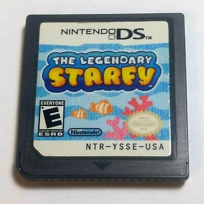 Legendary Starfy (Nintendo DS, 2009) Cart Only (Tested) # 22405