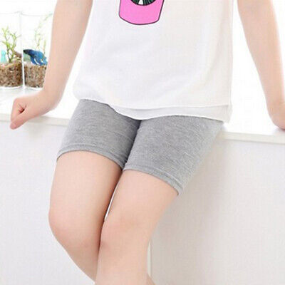 Girls Kids Casual Underwear Elastic Stretchy Pants Comfy Breathable Safety Short