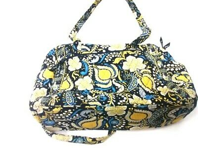 P6 Vera Bradley Used Mommys' Large Yellow & Blue Baby Bag