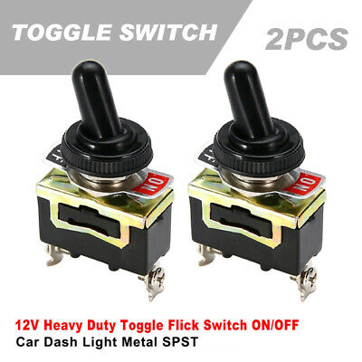 HEAVY DUTY TOGGLE SWITCH 20A 5 PACK ON//OFF 125VAC # 66-1901-5PK SPST