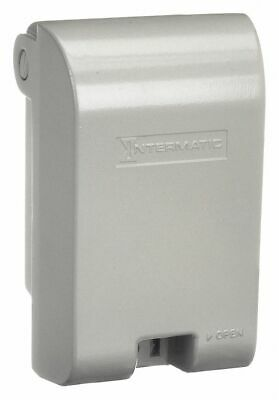 Intermatic Vertical-Mount While In Use Weatherproof Cover, 1-Gang, Die-Cast