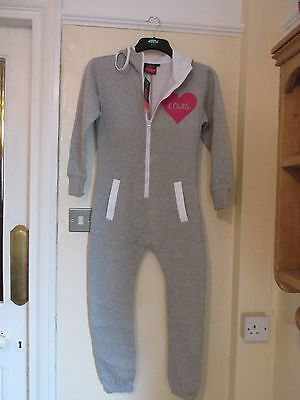 Fleece, New,Grey, Louis Tomlinson Directioner  In Pink. Size 9/10, Onesey