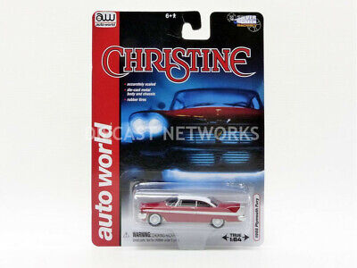 Auto World - 1/64 - Plymouth Fury - Christine - 1958 - Awss6401