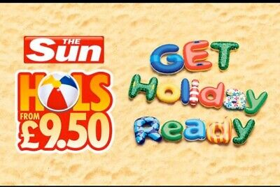 The Sun Holidays £9.50 Booking Codes ALL 7 Token Code Words To Book Online 2020