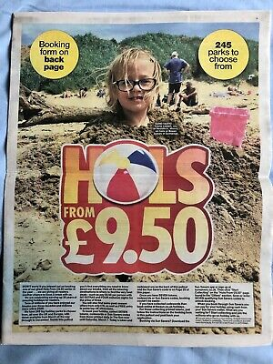 The Sun Holidays £9.50 ALL 7 Newspaper Tokens & 8 Page Guide Booking Form