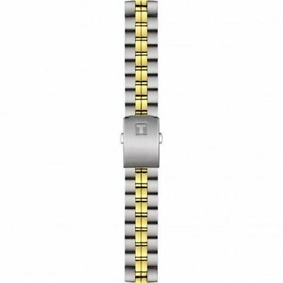 Genuine Tissot T605029566 Steel/Yellow Watch Strap - New Old Stock