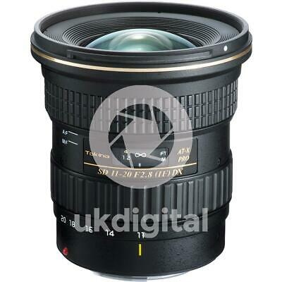 Tokina AT-X 11-20mm F2.8 PRO DX lens - CANON EF