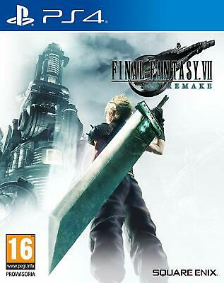 Final Fantasy 7 Vii Remake Eu Ps4 Sony Playstation 4 Multilingue Usc.10/4/20