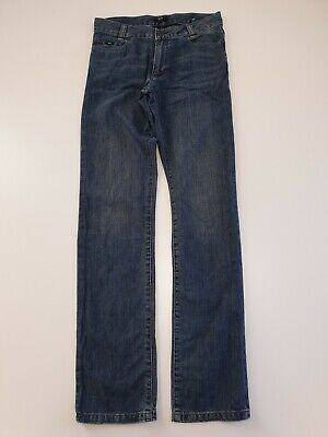 O12 Boys / Girls Hugo Boss Slim Fit Faded Blue Skinny Jeans Age 14 Years W30 L32