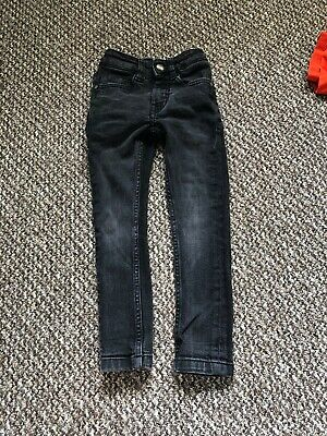Boys  Next Black Super Skinny Jeans Age 3 Years
