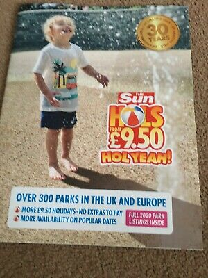 The Sun £9.50 Holidays POSTAL Booking form, + All 7 Tokens & Booklet