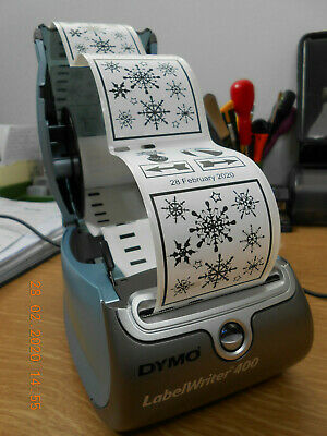 4 ROLLS DYMO COMPATIBLE LABELWRITER LABELS 89x28 FOR 310-320-330-400-450 ¸LAB887