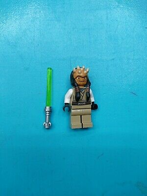 Authentic LEGO Star Wars Eeth Koth Minifigure sw332 7964 Zabrak Jedi Master