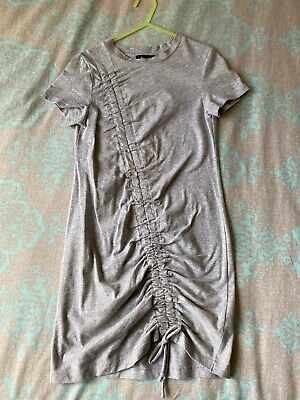 BARDOT Size 7 Excellent Condition Grey Ribbed Dress!