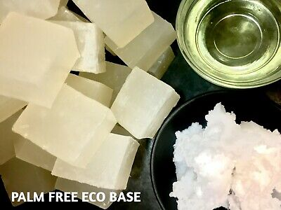 PALM FREE, SULPHATE FREE! Transparent Microwave Melt & Pour Soap Base