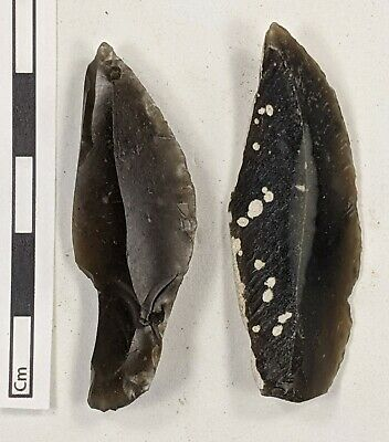 X2 Early Upper Palaeolithic, Aurignacian Leafpoints/Burins c40k-30k