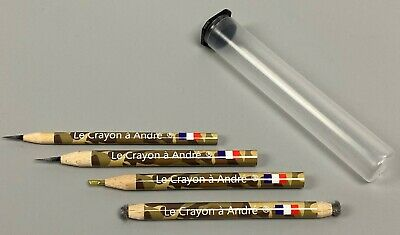 "Complete set of (4) Andre's pencils for coins and relics - ""Le Crayon a Andre"""