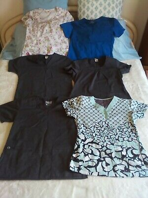Women's Scrubs - Size Small - Lot of 11 Items