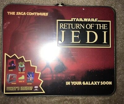 2019 Star Wars Culturefly Lunchbox Gift Set Episode VI Return of the Jedi NEW!