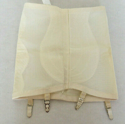 vintage foundation girdle with garter stocking holders renette brand style 98