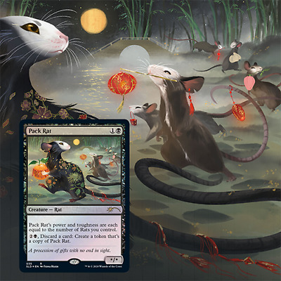 SEALED* Magic the Gathering Secret Lair Year of the Rat *IN HAND* Free Ship