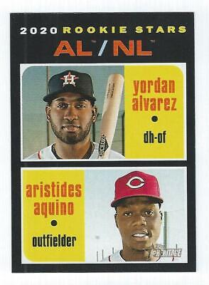 2020 Topps Heritage Rookie RC - YOU PICK FROM LIST - Rookies RCs