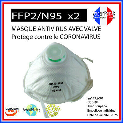 masque ffp antivirus