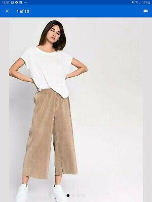 Ex TopShop Striped Wide Leg Trousers Fashion Celebrity Style BNWT