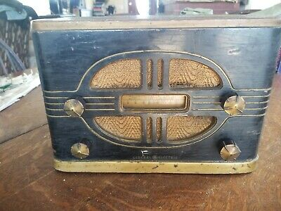 Vintage GE General Electric Tube Radio Model  E-50 Working!