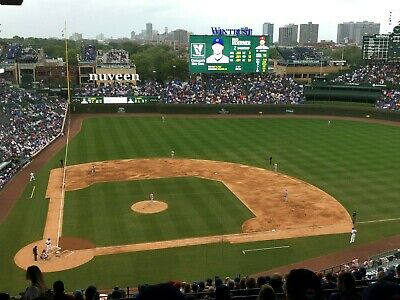 2 Tickets Chicago Cubs Vs Milwaukee Brewers 6/29/20 MONDAY. 7:05pm. Wrigley