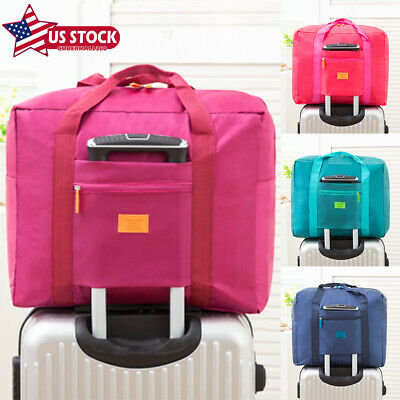 Baggage Luggage Storage Bag Travel Carry-On Duffle Portable Foldable Waterpoof