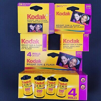 Kodak Gold Expired (2005) 35mm 200 Color Print Film 6 Rolls