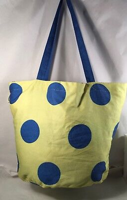 EMBROIDERED TOTE BAG Bride Bride To Be Date Polka dots