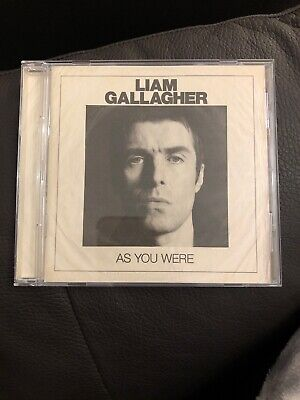 As You Were by Liam Gallagher (CD, 2017, Warner Bros) Pre-owned