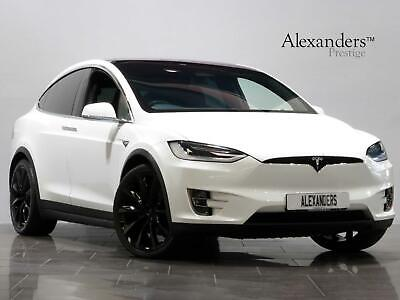 2016 Tesla Model X 306kW 90kWh Dual Motor Electric white Automatic