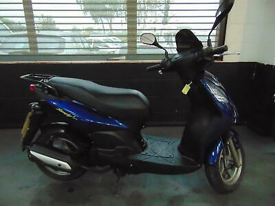 Sym Symply 125cc Moped Scooter Blue Learner Legal 2016 / 66 Reg